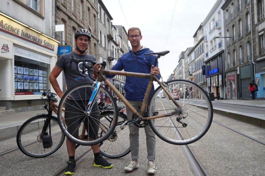 Vélo fabriqué par Tibo en 5 jours de stages
